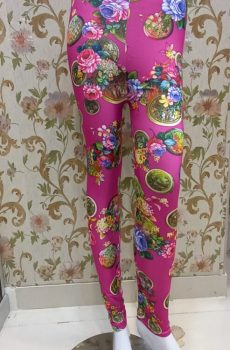 Multi Color Purple Tights for Female