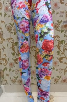 Multi Color floral Tights for Female