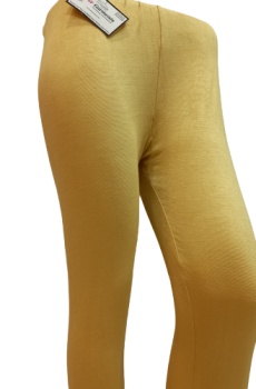 Plain Tights – Mustard