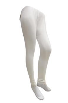 Plain Tights – White