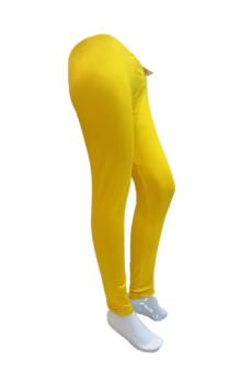Plain Tights - Yellow
