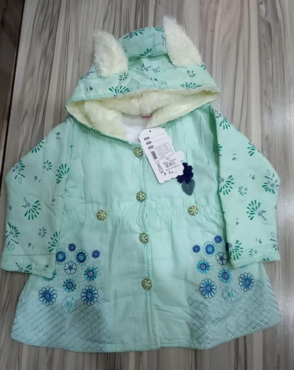 Warm Clothes with Cap for Baby Girl