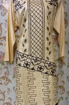 Linen embroidered shirt 3 colors