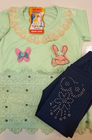 Girls Clothes Set Shirt & Pant